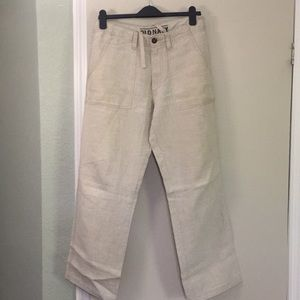 Old Navy 100% Linen Pants. Small.